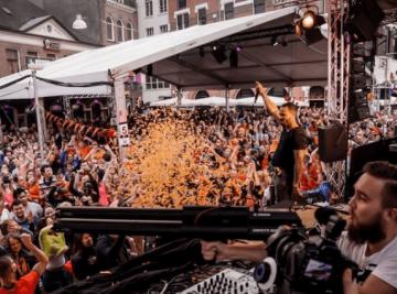 Disco Party Nijmegen Outdoors